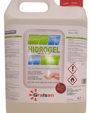 Gel hidro-alcohólico 5000ml