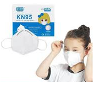 Mascarilla INFANTIL protección KN95/FFP2