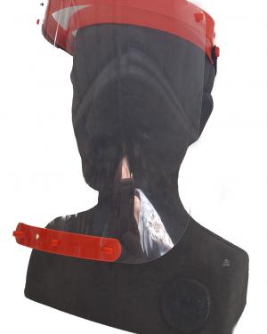Pantalla de protección facial básica